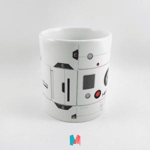 Go Pro, mug personalizado con imagen de partes de GoPro
