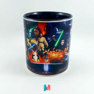 Star Wars, mug personalizado con imagen de la saga de peliculas Star Wars