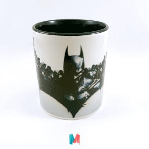 Batman mug personalizado con imagen de Batman de Christian Bale