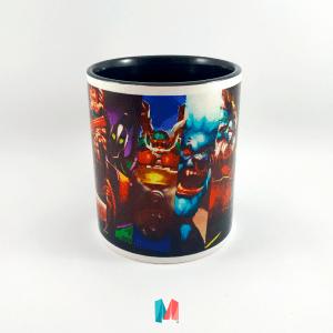 videojuegos, mug personalizado con imagen del juego Dota