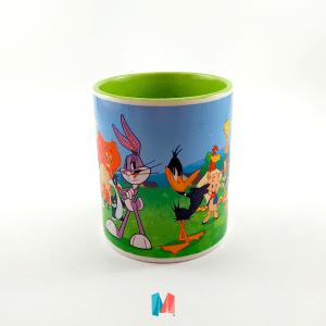 Caricatura, mug personalizado con imagen de los Looney Tunes