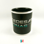 Mercedes, mug personalizado con imagen de Mercedes Petronas F1