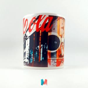 Coca Cola,mug personalizado vintage