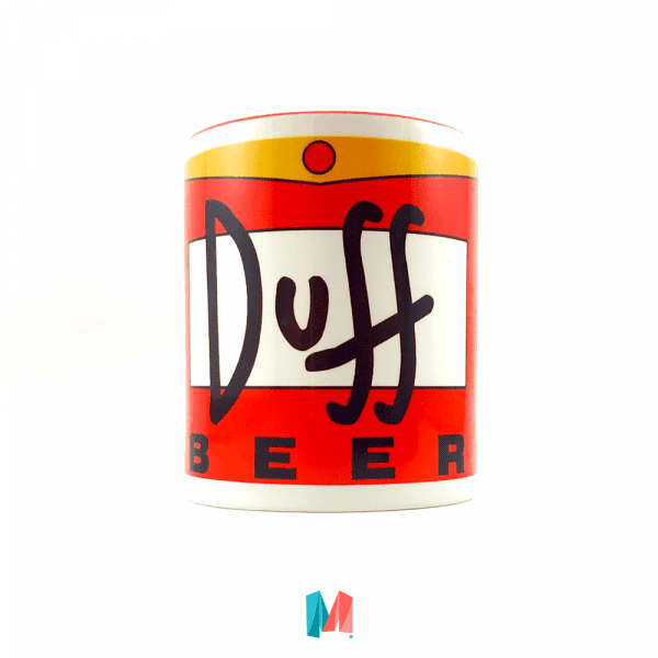 Simpson, mug personalizado lata duff