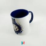 Futbol, mug personalizado con el escudo del Inter de Milán