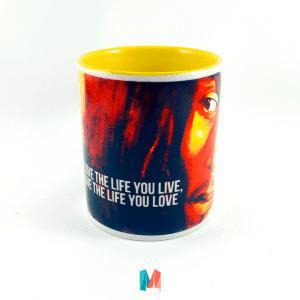 Bob Marley, mug personalizado del cantante Bob Marley