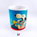 Snoopy, mug personalizado con imagen de snoopy de charlie brown