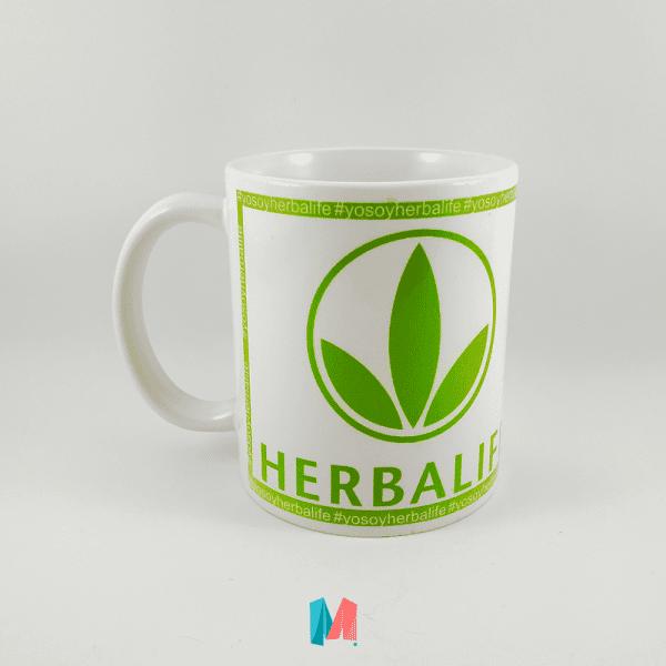 Herbalife, mug personalizado de la marca herbalife