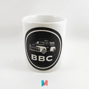 BBC, mug personalizado de cevecería BBC