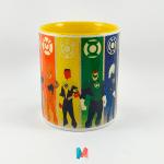 Dc Comics, mug personalizado de Justice League