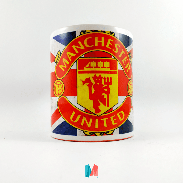 Manchester United,mug personalizado con escudo de equipo de futbol