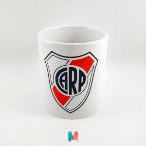 River Plate, mug personalizado con el escudo del River
