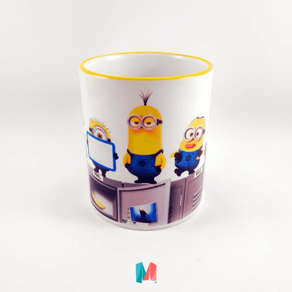 Minions, mug personalizado con imagen de los minions